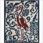 Needlepoint Animals Designs - The Stork