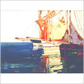 Boats Needlepoint Canvases