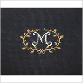 Needlepoint Letters - Mouse Pads - Beginner Needlepoint Canvases