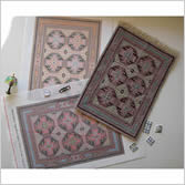 Petit Point Canvases Doll House Rugs